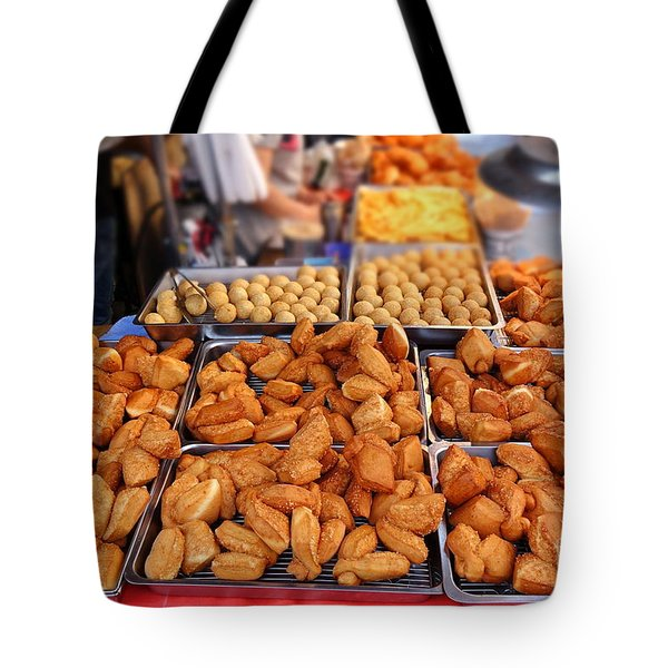 Deep Fried Chinese Bread Buns Tote Bag