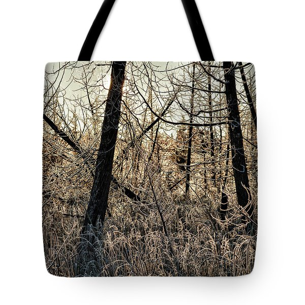 Deep Frost Tote Bag