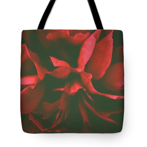 Deep Red Tote Bag