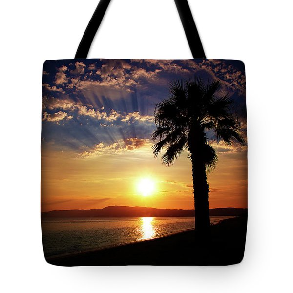 Tote Bag featuring the photograph Deep Serene  by Milena Ilieva