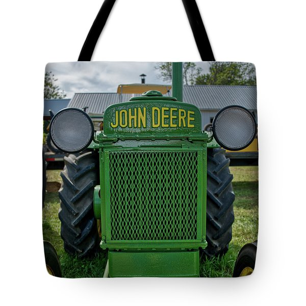 Tote Bag featuring the photograph Deere In Headlights by Mark Dodd