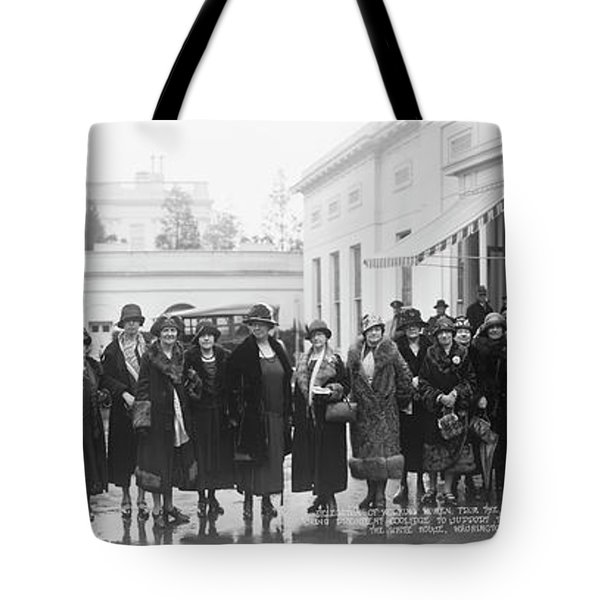 Delegation Of Working Women Tote Bag