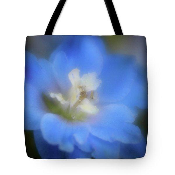 Delphinuim Joy Tote Bag