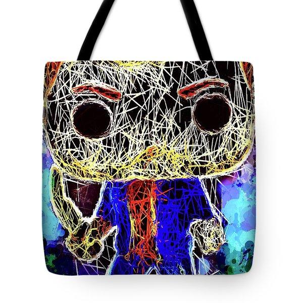 Dean Winchester Supernatural Tote Bag