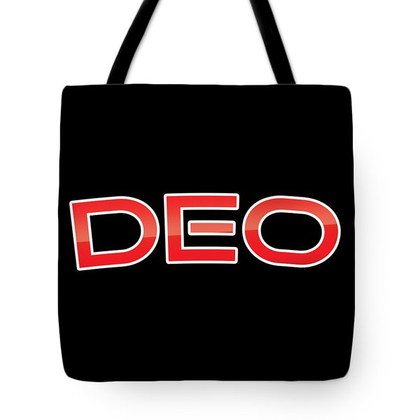 Tote Bag featuring the digital art Deo by TintoDesigns