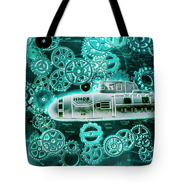 Depth Charged Tote Bag