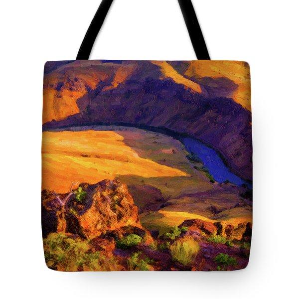 Deschuttes River 2 Tote Bag