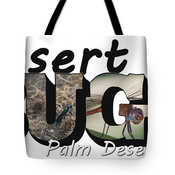 Desert Bugs Big Letter Tote Bag