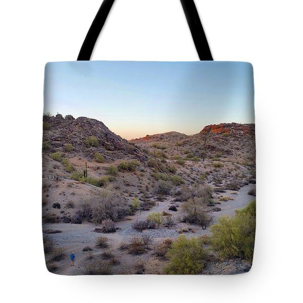 Desert Canyon Tote Bag