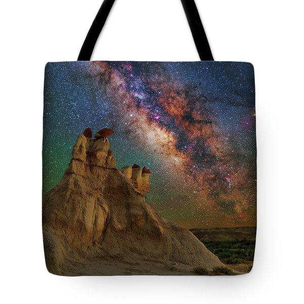 Desert Castle Tote Bag