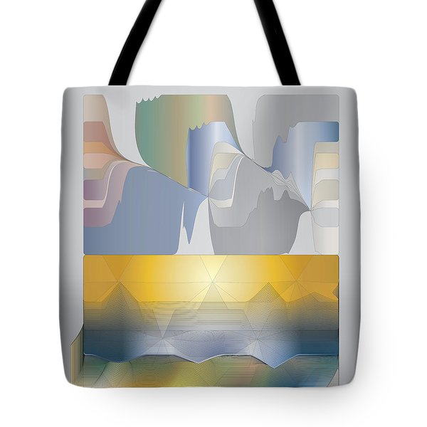 Desert Filter Box Tote Bag