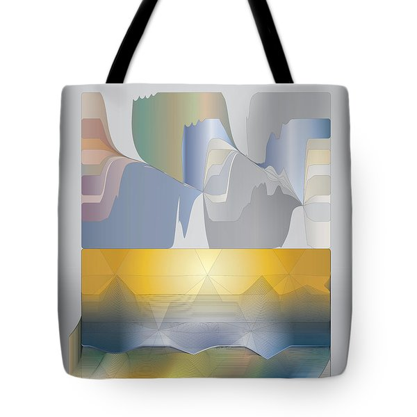 Desert Filter Box Tote Bag