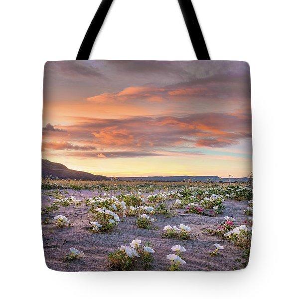 Desert Lily Spring Bloom, Anza-borrego Tote Bag