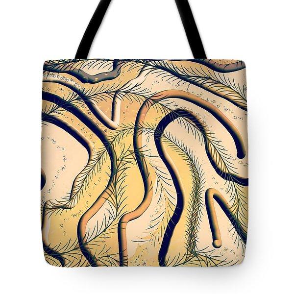 Desert Map Tote Bag
