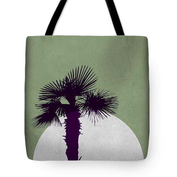 Desert Palm Tree Tote Bag