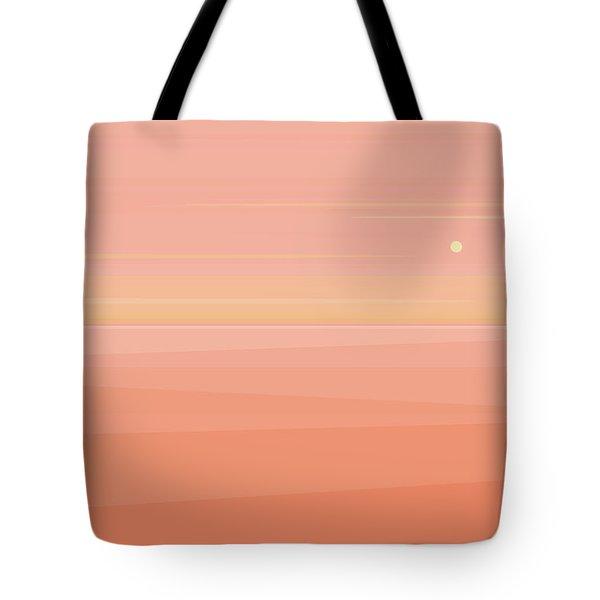 Desert Peach Dawn Tote Bag