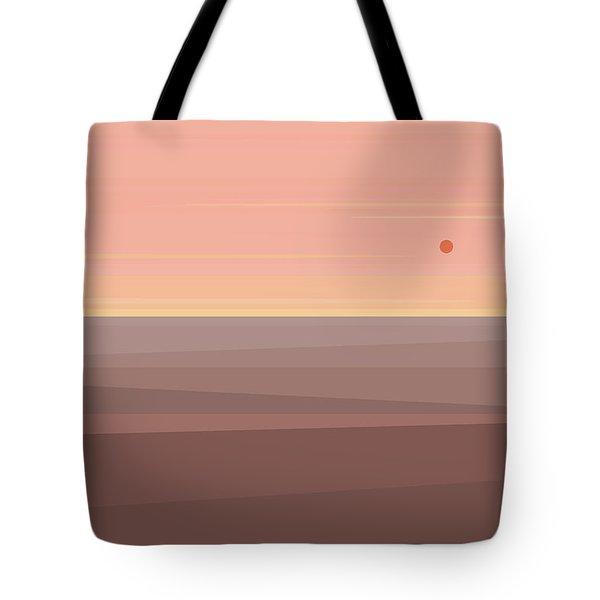 Desert Peach Tote Bag