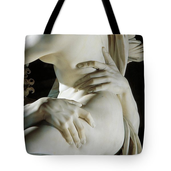Detail Of The Abduction Of Proserpine, Marble Tote Bag