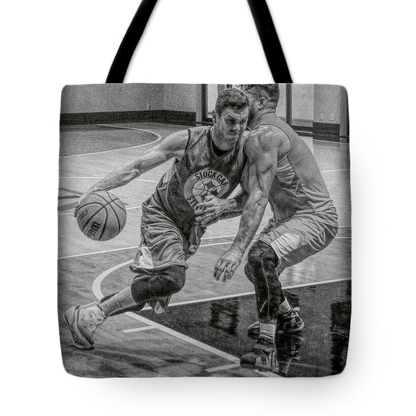 Tote Bag featuring the photograph Determination by Ronald Santini