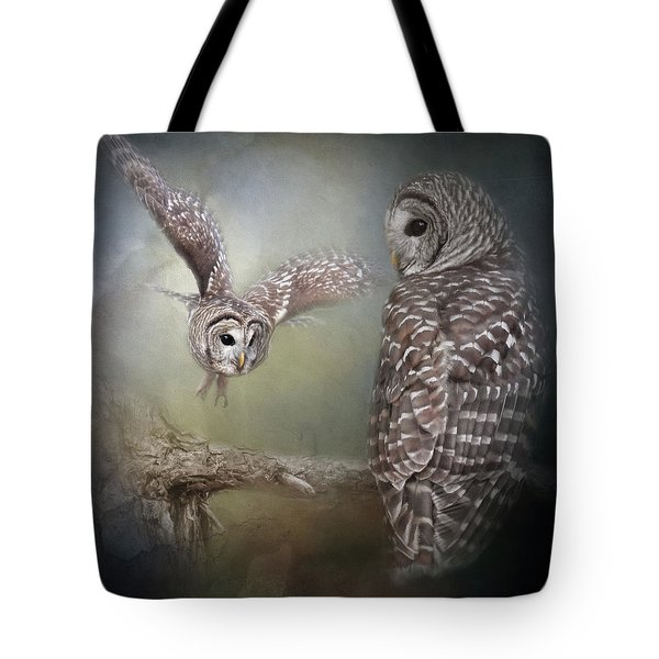 Tote Bag featuring the photograph Determined Spirit by Jai Johnson