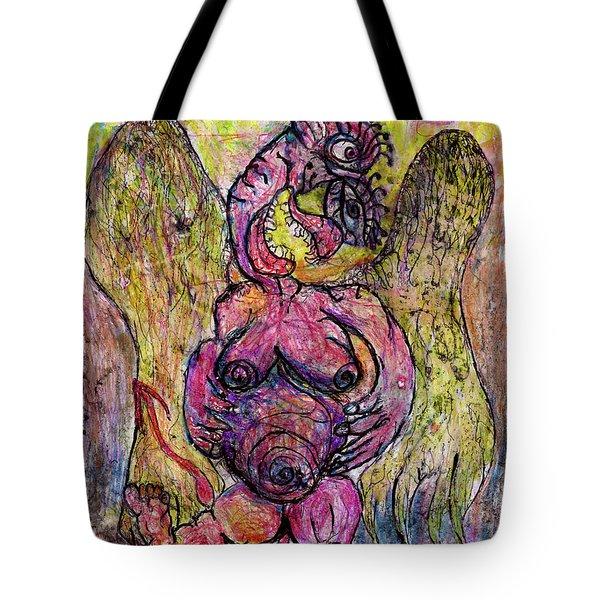 Devil Fiary Tote Bag