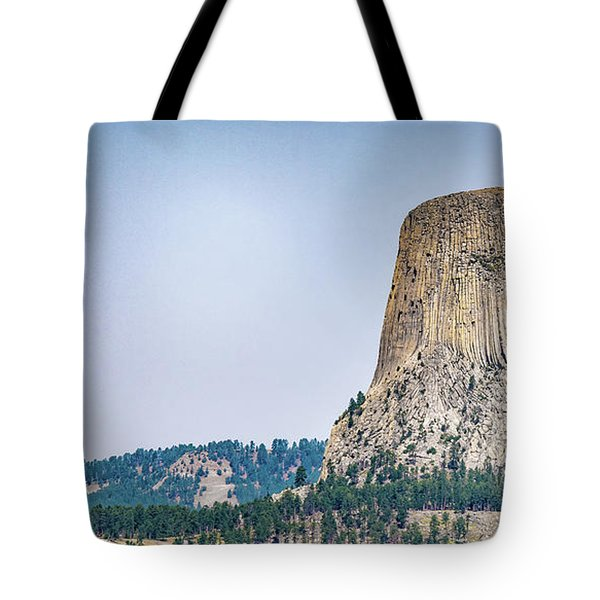 Devils Tower Tote Bag