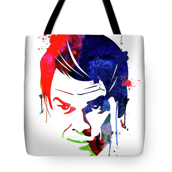 Dexter Watercolor Tote Bag