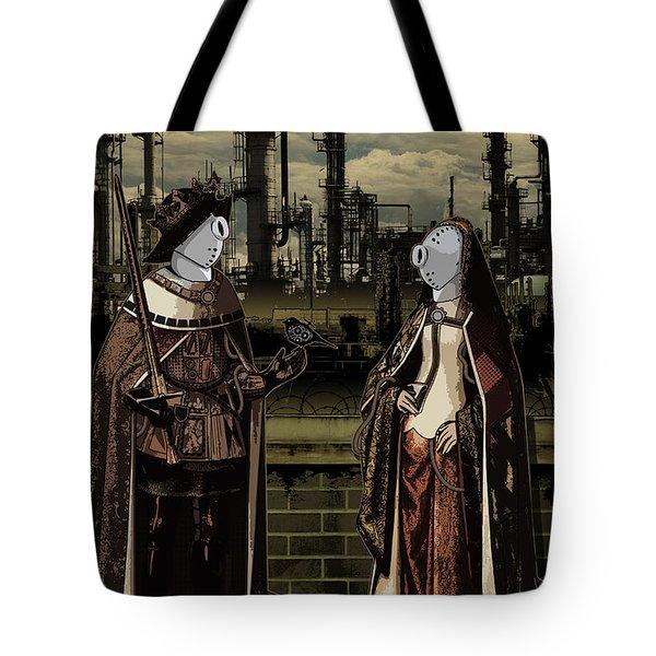 Dialog Tote Bag