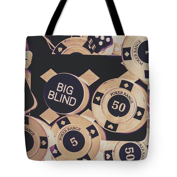 Diamond Odds Tote Bag