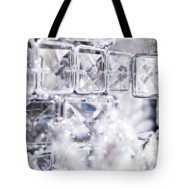Tote Bag featuring the photograph Diamond Shine II by Anne Leven