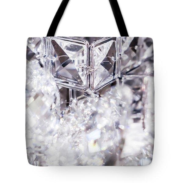 Diamond Shine V Tote Bag