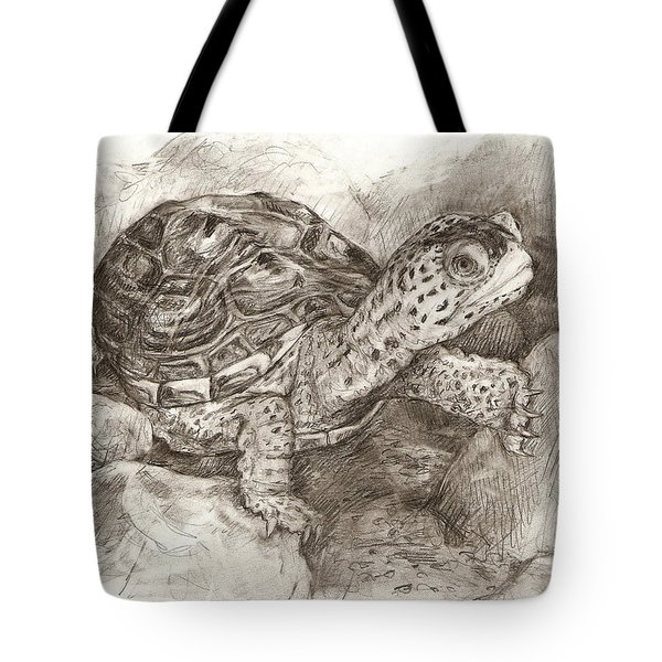 Diamondback Terrapin Tote Bag