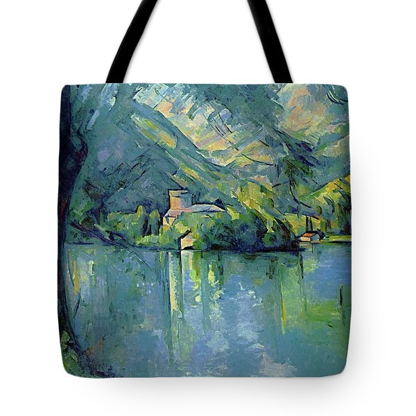 Lake Annecy - Digital Remastered Edition Tote Bag