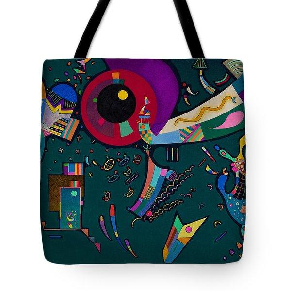 Digital Remastered Edition - Around Circle Tote Bag