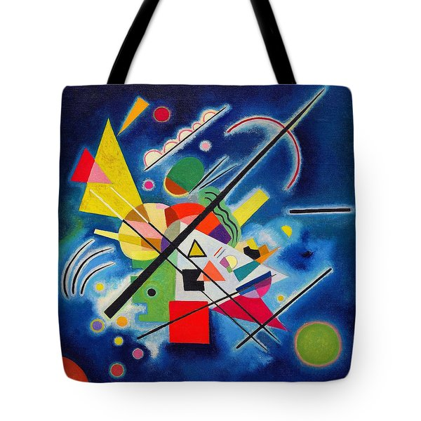 Digital Remastered Edition - Blue Painting Tote Bag