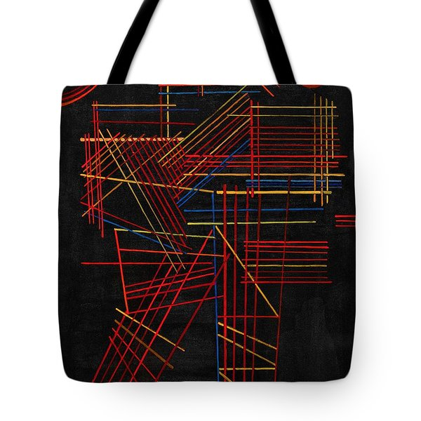 Digital Remastered Edition - Colored Stick Tote Bag