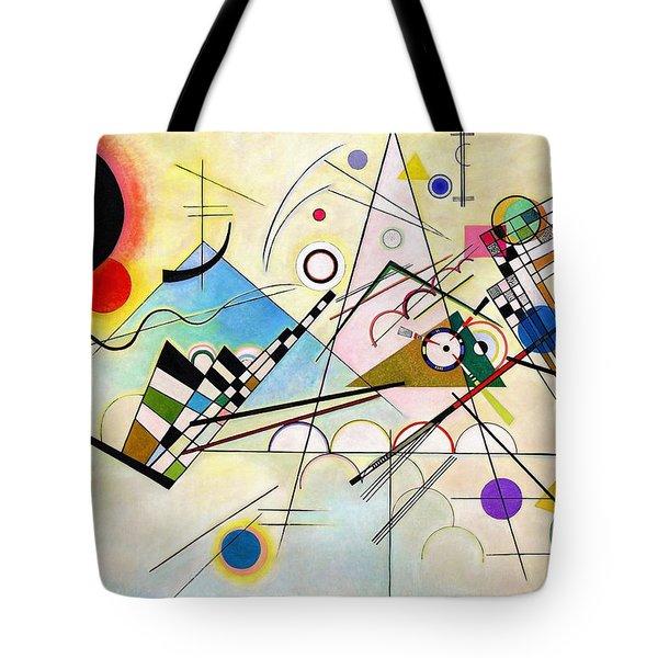 Digital Remastered Edition - Composition Viii Tote Bag