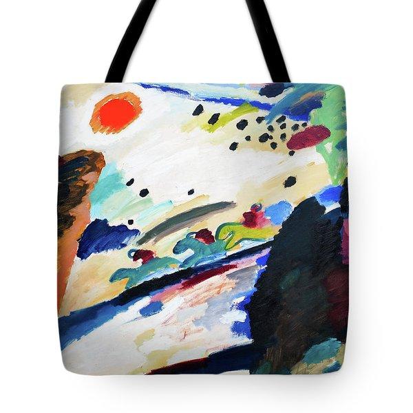 Digital Remastered Edition - Romantic Landscape Tote Bag
