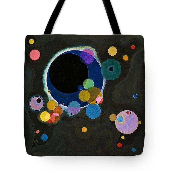 Digital Remastered Edition - Several Circles Tote Bag