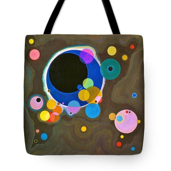 Digital Remastered Edition - Several Circles - Original Light Brown Tote Bag