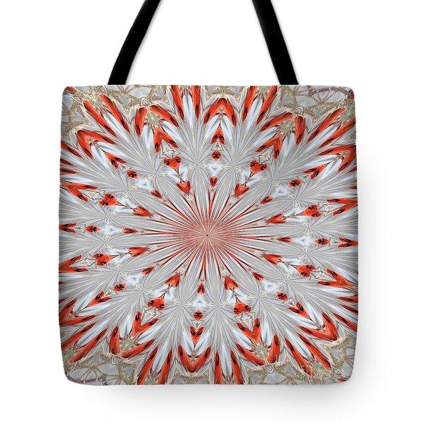 Digitalized Cardinal Tote Bag