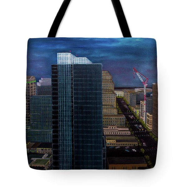 Discordant Chords Tote Bag