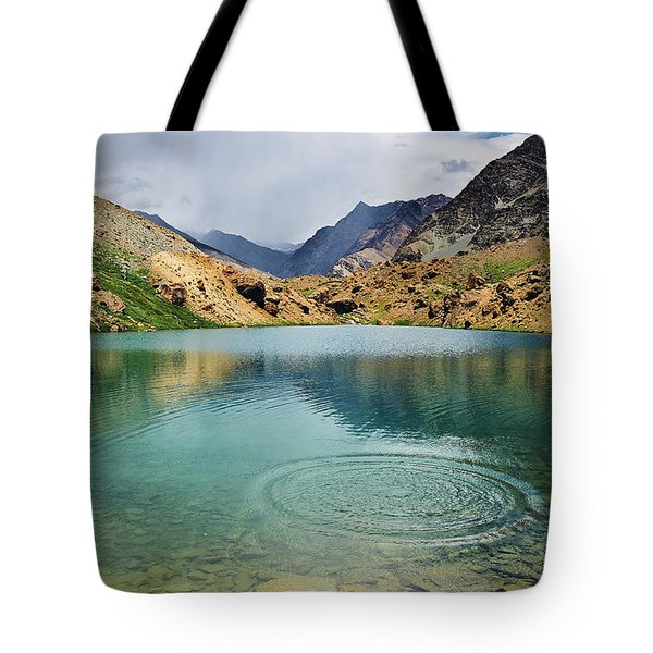 Tote Bag featuring the photograph Distant Rains by Whitney Goodey