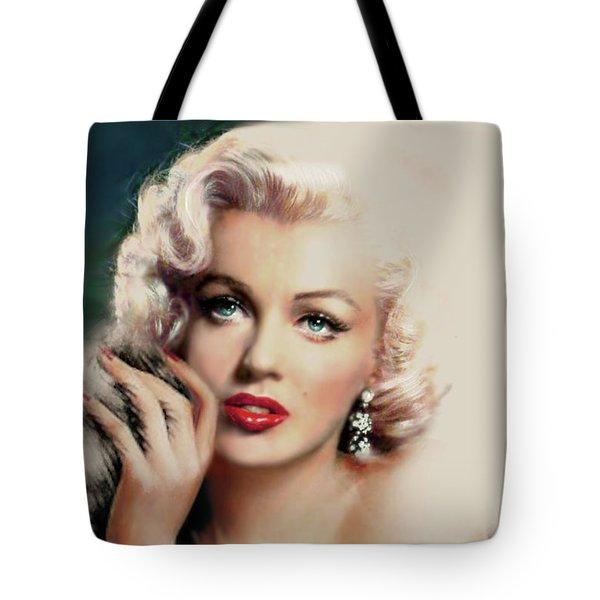 Diva Mm 169 Rose Tote Bag