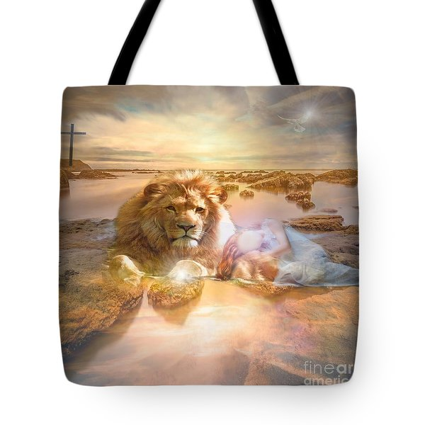 Divine Rest Tote Bag