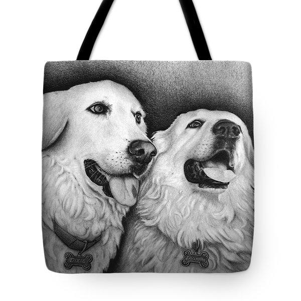 Dixie And Savannah Tote Bag