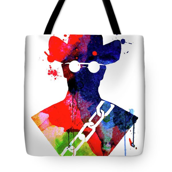 Django Watercolor Tote Bag