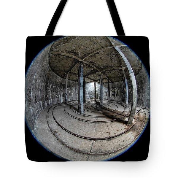 Djupavik Cannery Herring Oil Tank Tote Bag
