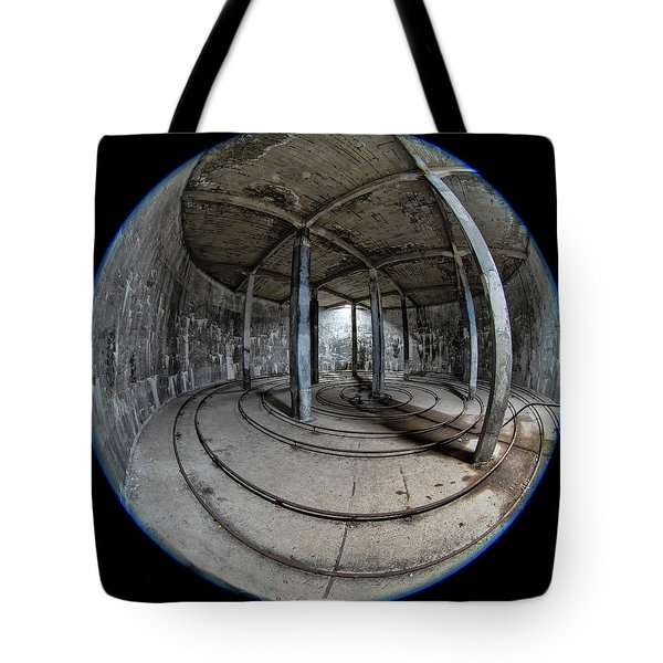 Djupavik Cannery Herring Oil Tank Tote Bag