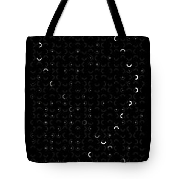 Dna On 10th North Wayfinding Sign At Nighttime Tote Bag